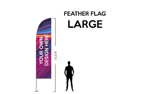 Feather Flag Large 13.5ft