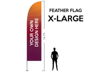 Feather Flag X-Large 16.7ft