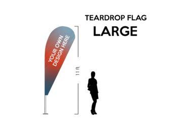 TearDrop flag Large 11ft