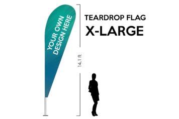 TearDrop flag X-Large 14.1ft